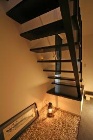 見せ場を意識した階段